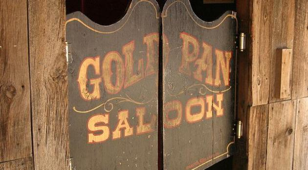 Gold pan saloon
